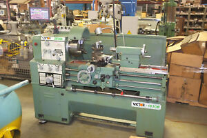 16 Swg 30 Cc Victor 1630b Engine Lathe Inch metric Gap With Digital Readout