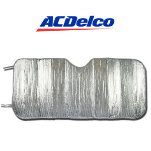 Acdelco Windshield Car Sun Shades Foldable Heat Uv Ray Protection