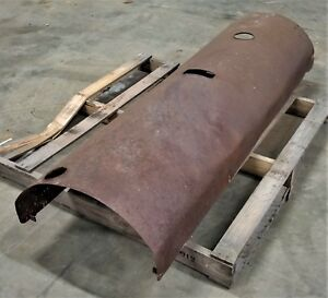 Old Tractor Hood Or Old Lincoln Welder Hood Vintage Antique