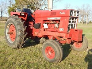 International 1066 Turbo Tractor