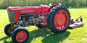 1956 Massey ferguson 50 High Crop Gas Tractor Ie Gasoline Massey