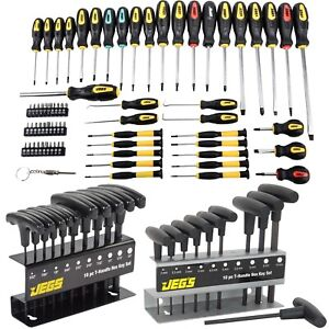Jegs 80755k1 Ultimate Screwdriver Hex Key Kit