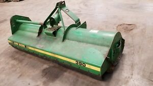 John Deere 390 Flail Mower ie Brush Bush Hog Cutter 7 8 Foot 7 5 Fe