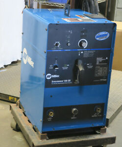 Miller Syncrowave 180 Sd Cc Ac dc Arc Welding Supply 208 230v 907054