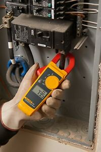 Fluke 323 True rms Clamp Meter 400 Amp Grab and go Troubleshooting