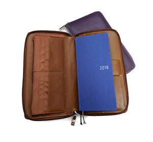 A6 Size Hobonichi Mega Weeks Cover Zipped Around 6 Ring Planner Compact