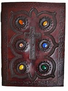 Genuine Leather Journal Vintage Antique Style Organizer Blank Notebook Diary