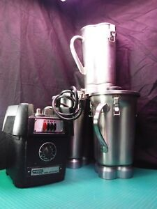 Blender Heavy Duty Commercial 3 speed For Cocktails smoothies 3 1 Gallon Jugs