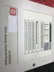 Radionics D10024a Fire Alarm Control Panel used