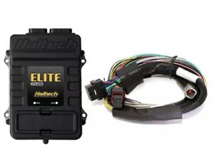 Haltech Elite 2500 Ecu 8 Ft Long Basic Universal Wire Harness Kit 151302