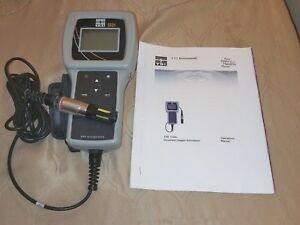 Ysi 550a Dissolved Oxygen Meter New Batteries Color Printed Manual