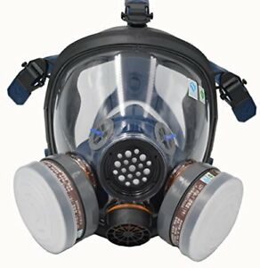 Organic Vapor Full Face Paint Respirator Gas Chemical Dust Proof Mask Protection