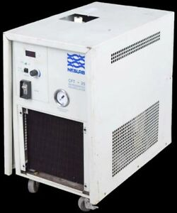 Neslab Cft 25 Coolflow Laboratory Mobile Refrigerated Recirculator Chiller Parts