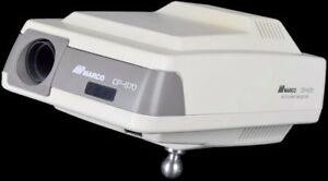 Marco Cp 670 Medical Optometry Acuity Auto Eye Chart Projector No Remote