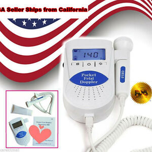 Lcd Backlight B Pocket Fetal Doppler Baby Heart Monitor Portable 1pcs Best