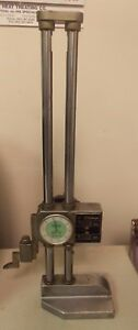 Mitutoyo 192 116 Dial Height Gage With Digit 0 12 Range 001