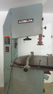 Delta 20 In Vertical Band Saw Single Phase 220 Volt 15 Amp 2 Hp