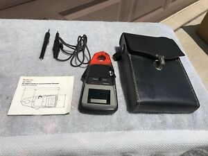 Snap on Professional Dc Digital Clamp on Ammeter Ac 1000 complete