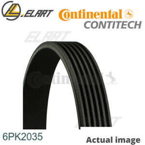 V ribbed Belts For Mercedes benz C class w203 m 111 951 Contitech 6pk2035