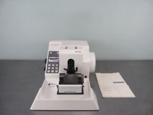 Microm Hm 355 S Rotary Microtome With Warranty See Video