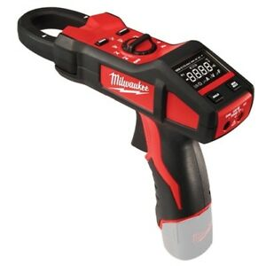 Milwaukee 2238 20 M12 Clamp gun Cordless Clamp Meter For Hvac r bare Tool