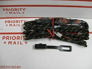 Western 61557 Fisher 8276 12 Pin Plow Control Wiring Harness New For Relay Type
