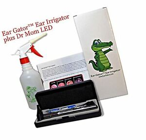 Ear Wax Removal Kit Ear Gator Ear Irrigator Plus Third Generation Dr Mom Le