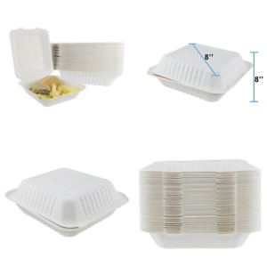 Houseables Takeout Containers To Go Box Restaurant Take Out Food Container 100 P