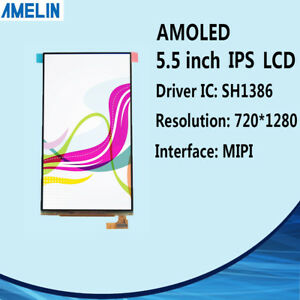 5 5 Inch Oled 720 1280 Lcd Module With Mipi Display And Capacitive Touch Screen