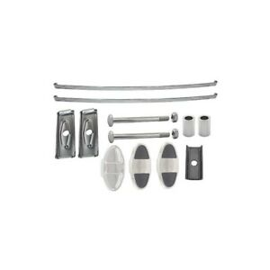 Model A Ford Front Bumper Master Kit Stainless Steel 1930 31 28 21945 1