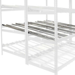 Gravity Flow Carton Rack Additional Level Kit 96 w X 72 d Lot Of 1