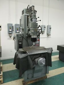 Moore G18 Vertical Jig Grinder W Spindle Used Am12460 Am16997