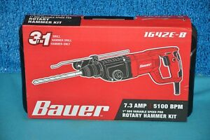 Bauer Tools Hammer Drill 1642e b Hammer Drill tea021757 Factory Sealed