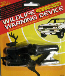 A Pair Of Wildlife Warning Deer Whistle Animal Alert Car Safety Devices