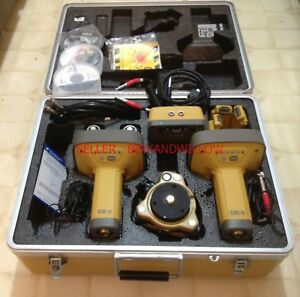 Topcon Gr 5 Rtk Base Rover Glonass Gps System W Tesla Tablet Data Collector