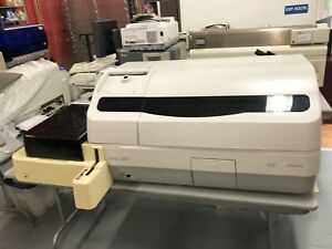 Hitachi Roche Elecsys 2010 Rack Handler Immunoassay System Sold As Is