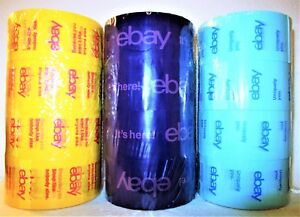 12 Rolls 75 Yards Official Ebay Branded Shipping Packing Tape New