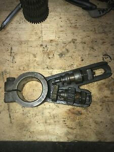 Nice Orig Logan 10 Model 200 Lathe Banjo Bracket And Nuts