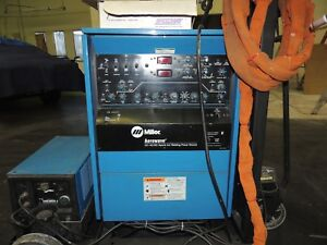 Miller Aerowave Cc ac dc Hybrid Arc Welding Power Source Complete Set up
