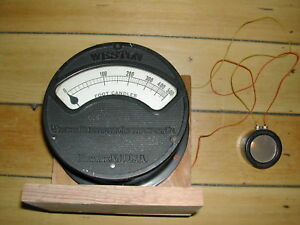Vintage Weston Foot Candles Meter Weston Photronic Cell Good Working Condition