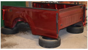 2017 Ford F250 8ft Truck Bed