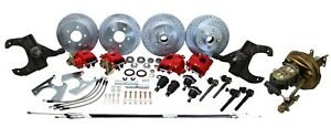 1967 70 Chevy Gmc Truck Complete Disc Brake Conversion 5 Lug Stock Spindles