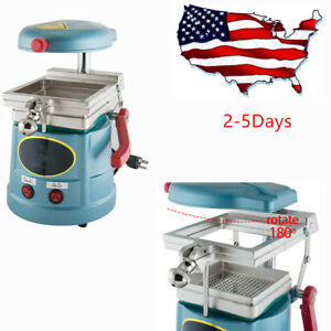 Dental Vacuum Former Forming Molding Machine Thermoforming Lab Equipment Usps Ce