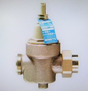 Watts Regulator 1 Lfn55bm1 u Water Pressure Reducing Valve 4 7 8 In