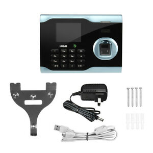 Biometric Wifi Fingerprint Time Attendance Id Card Reader Scanner Tcp ip Usb