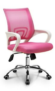 Fashion Mesh Latex Fashionable Home Office Mesh Latex Seat Chair pink