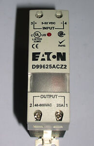 Eaton Solid State Relay Ssr 25 Amp D99625acz2 New