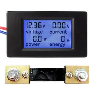 Voltage Current Power Energy Combo Meter Car Battery Monitor Dc 6 5v 100v 0 100a