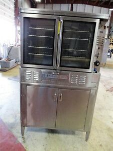 Blodgett Convection Oven Model Fa 100 Gas Fired