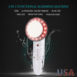 6in1 Ultrasonic Cavitation Fat Removal Ems Cellulite Frequency Slimming Machine